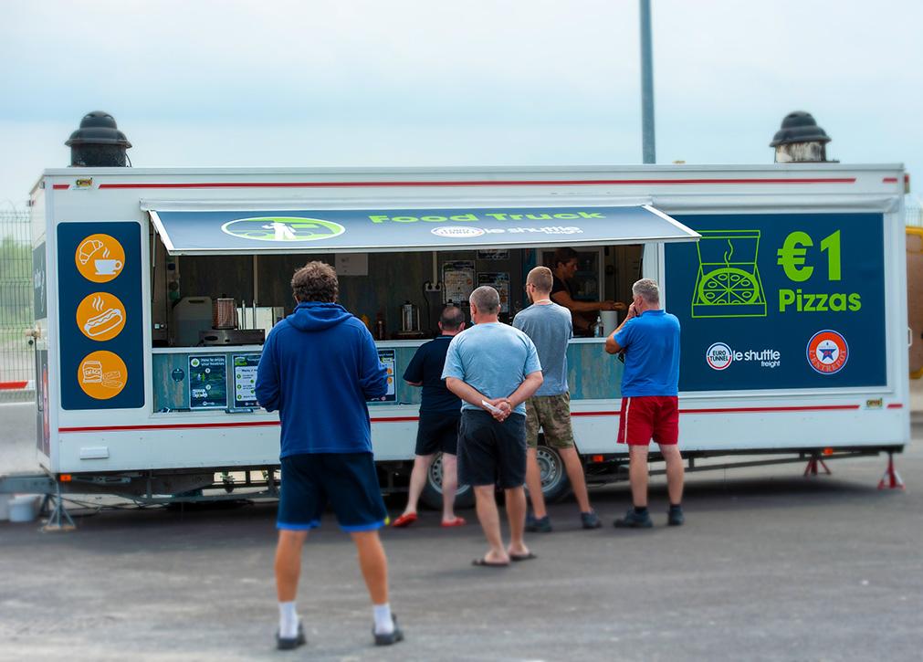 Food Truck on Le Truck Village